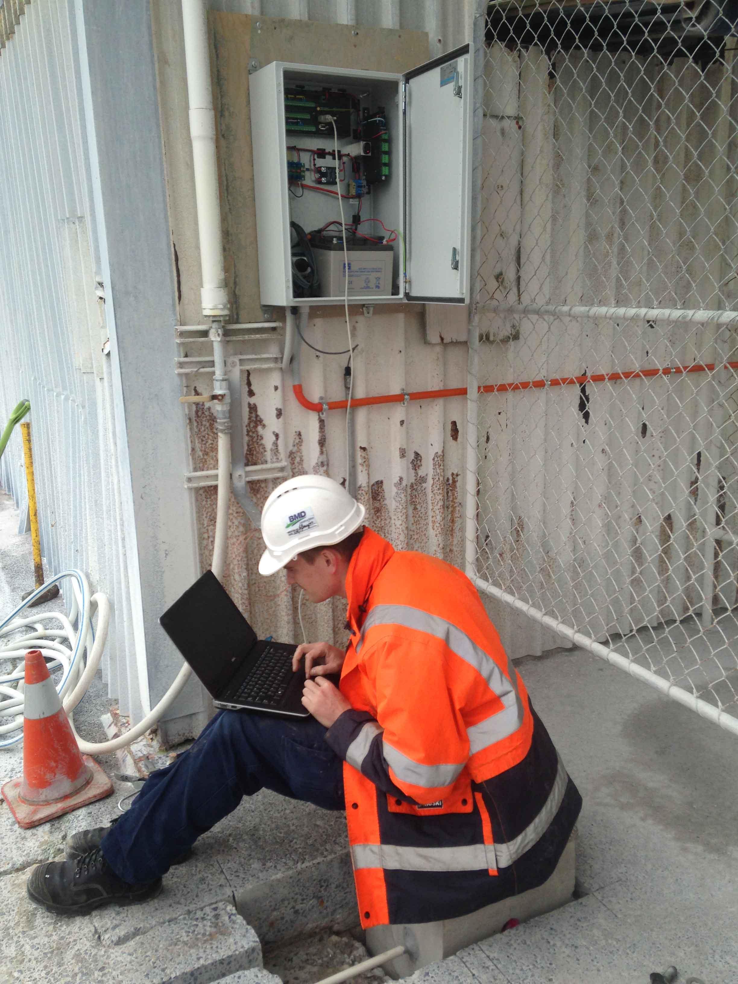 Convergence Monitor System at Matauri Bay Clay Pit