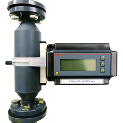 MBP Series F5000  PVC/PTFE tube Variable Area Flowmeter with trasnmitter
