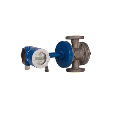 Bopp & Reuther Series OI Oval Gear High Temperature Flowmeter