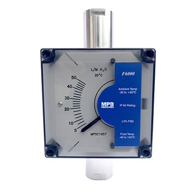MBP Series F6000 TEX600 Metal tube Variable Area Flowmeter with trasnmitter
