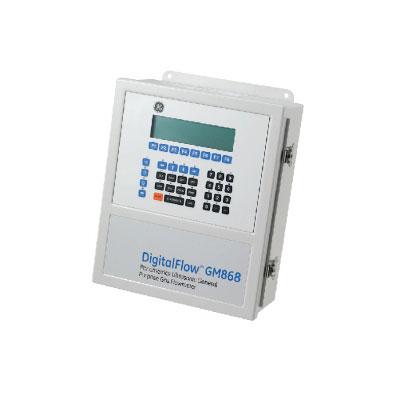 GE Panametrics PanaFlow GM868 Ultrasonic Gas Flowmeter