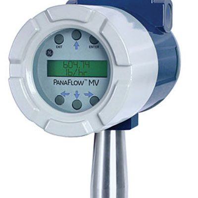 GE Panametrics PanaFlow Series MV80 Inline Vortex Flowmeter